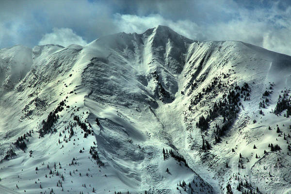 Photograph - Aspen Snowmass Avalanche Chutes by Adam Jewell