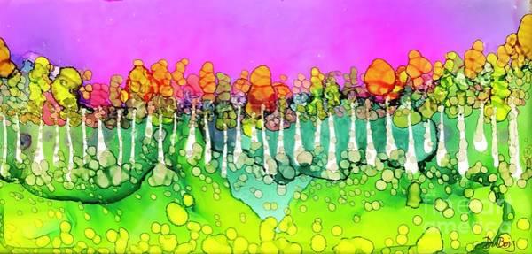 Painting - Aspen Sunset by Lisa DuBois