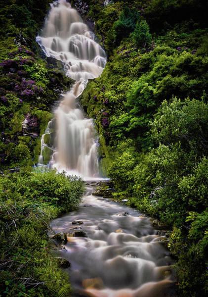 Photograph - Assaranca Waterfall by Alan Campbell