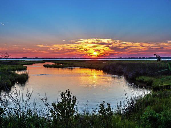 Photograph - Assateague Island Sunset by Louis Dallara