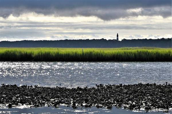 Photograph - Assateaugue Lighthouse From Chincoteague by Kim Bemis