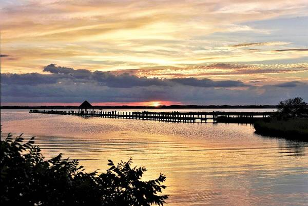 Photograph - Assawoman Sunset by Kim Bemis