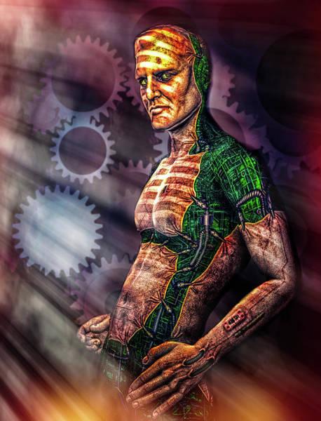 Digital Art - Assimilation by Bob Orsillo