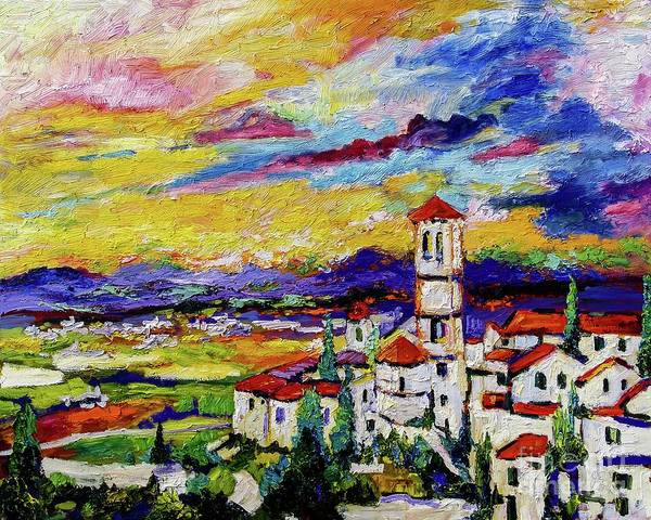 Painting - Assisi Italy Umbria by Ginette Callaway
