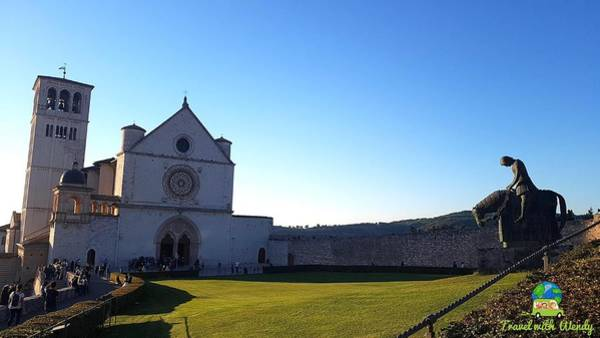 Photograph - Assisi by Wendy Payne Travel Writer
