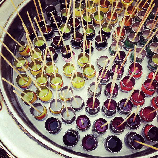Retail Photograph - Assorted Ice Lollies by Anshu Ajitsaria