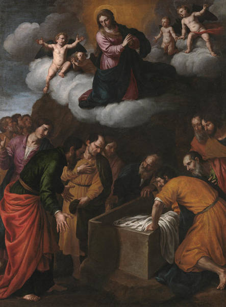 Painting - Assumption Of Mary by Alessandro Turchi