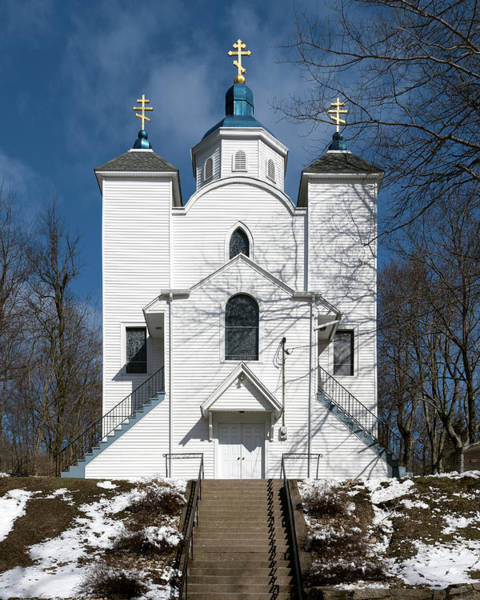 Photograph - Assumption Of The Blessed Virgin Mary Church In Centralia by William Dickman