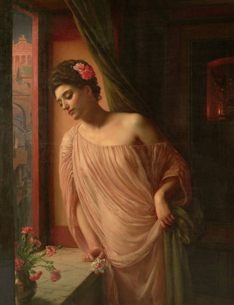 Wall Art - Painting - Asterie, 1904 by Edward Poynter