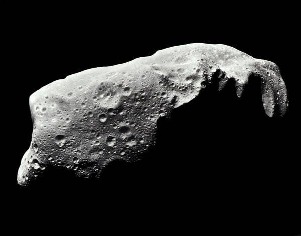 Meteor Crater Photograph - Asteroid 243 Ida by Stocktrek