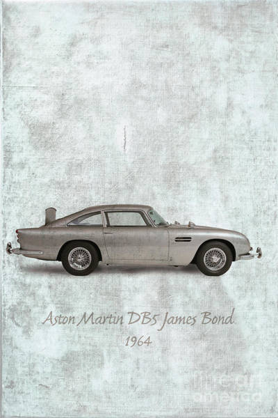Db5 Wall Art - Photograph - Aston Martin 1964 by Patricia Hofmeester