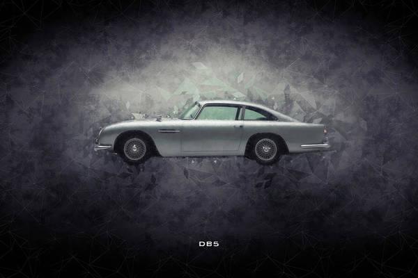 Db5 Wall Art - Digital Art - Aston Martin Db5 by J Biggadike
