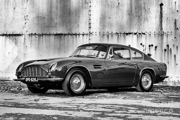 Photograph - Aston Martin Db6 Mk2 Vantage Saloon by Tim Gainey