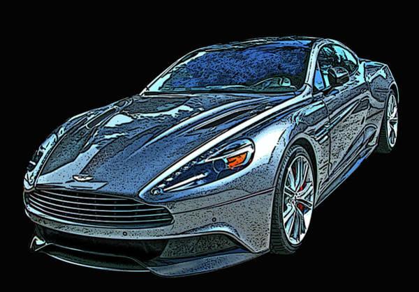 Photograph - Aston Martin Db9 by Samuel Sheats