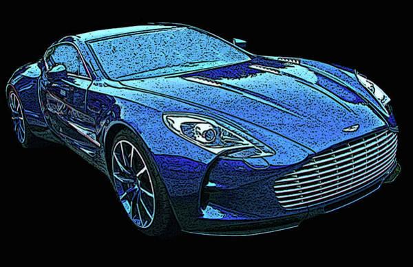 Photograph - Aston Martin One 77 by Samuel Sheats