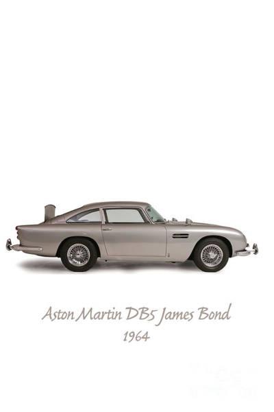 Db5 Wall Art - Photograph - Aston Martin  by Patricia Hofmeester