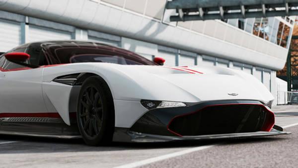 Photograph - Aston Martin Vulcan - 49 by Andrea Mazzocchetti