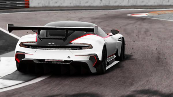 Photograph - Aston Martin Vulcan - 56  by Andrea Mazzocchetti