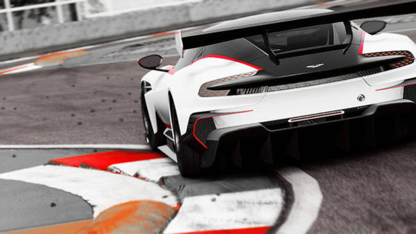 Photograph - Aston Martin Vulcan - 57 by Andrea Mazzocchetti