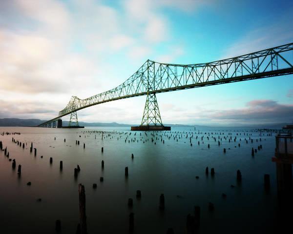 Astoria Bridge Photograph - Astoria Bridge Pinscape by Photo By Josh Boes