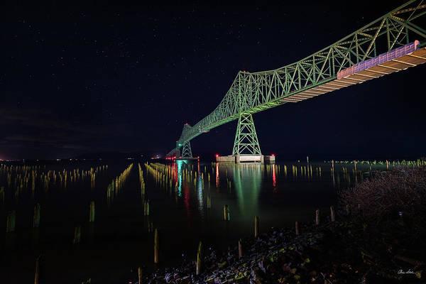 Photograph - Astoria Bridge Reflections by Chris Steele