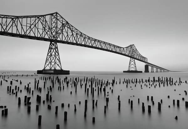 Astoria Photograph - Astoria-megler Bridge by Photo By Benjy Meyers