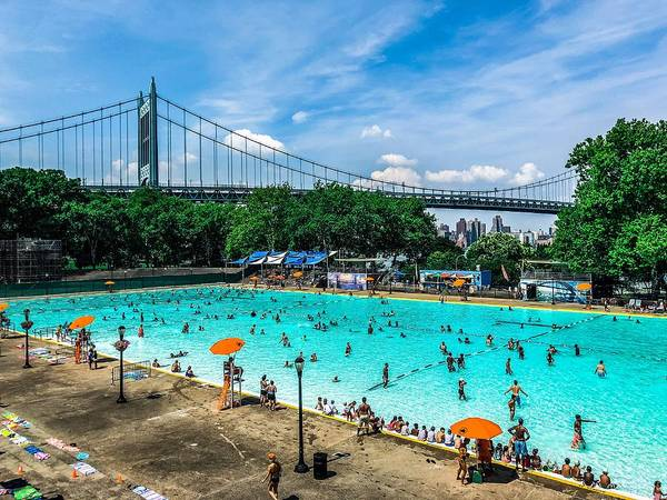 Wall Art - Photograph - Astoria Pool by Cate Franklyn