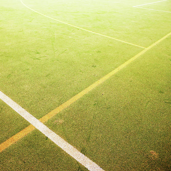 Photograph - Astro Turf Pitch by Richard Newstead