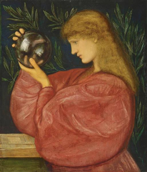 Drawing - Astrologia by Edward Burne-Jones