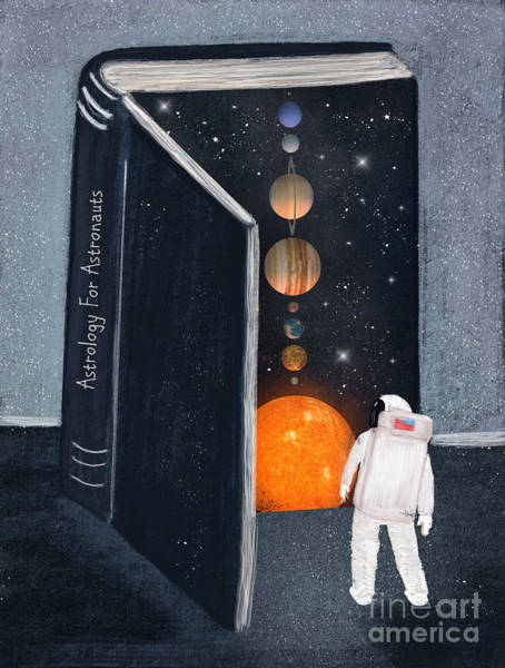 Wall Art - Painting - Astrology For Astronauts by Bri Buckley