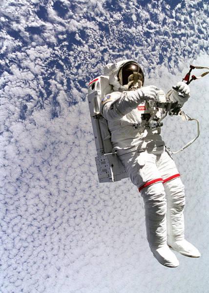 Wall Art - Digital Art - Astronaut In Space by Filip Hellman