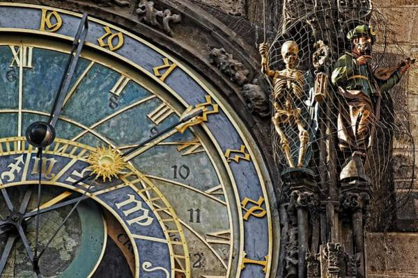 Wall Art - Photograph - Astronomical Clock - Close-ups And Details - 3 by Hany J