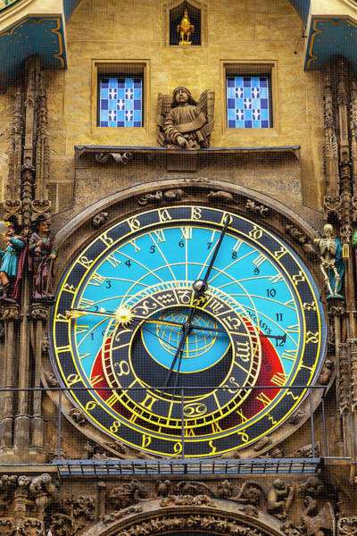 Wall Art - Photograph - Prague Astronomical Clock by Andrew Soundarajan