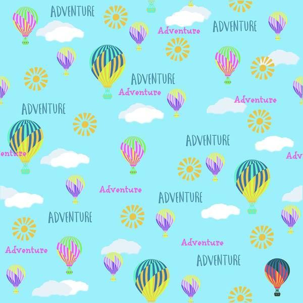 Balloon Festival Digital Art - Adventure by Fornalczyk Aleksandra