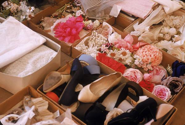 Photograph - At Christian Diors Paris Salon by Loomis Dean