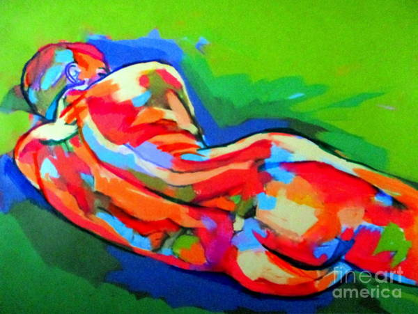 Painting - At Ease by Helena Wierzbicki