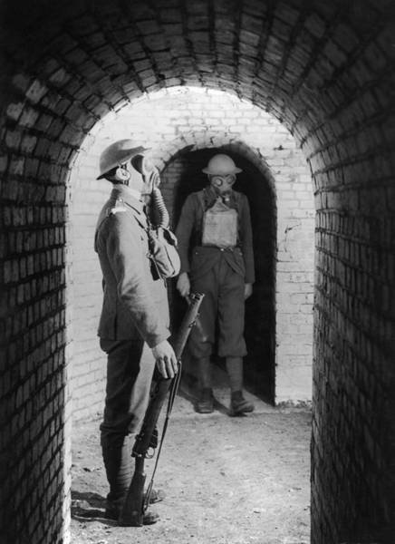 British Armed Forces Photograph - At Ease by Hulton Archive