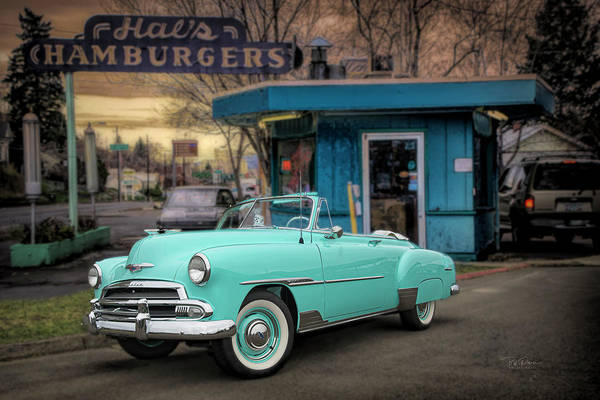 Photograph - At Local Burger Stand by Bill Posner