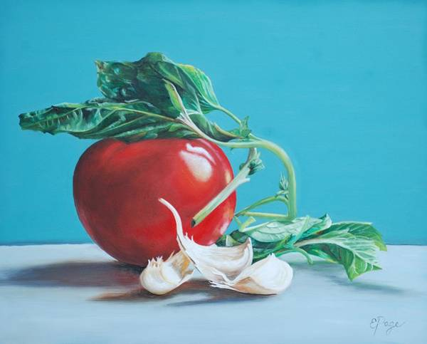 Painting - At Least We Still Have Tomatoes by Emily Page