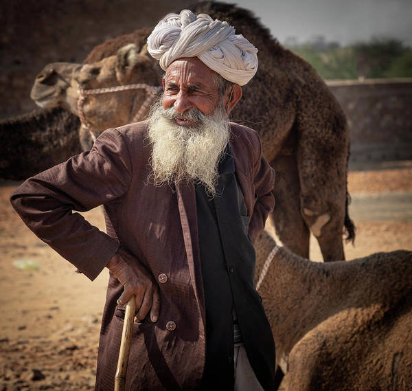 Photograph - At Pushkar Fair. by Usha Peddamatham