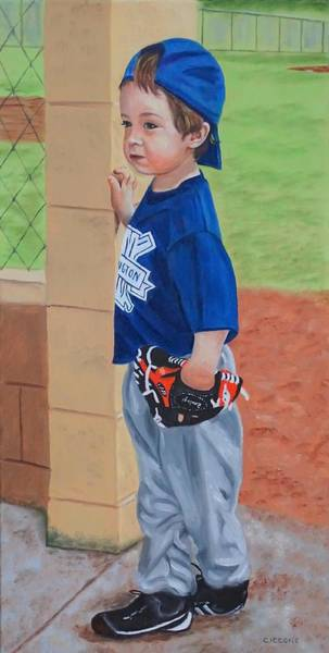 Painting - At The Dugout by Jill Ciccone Pike