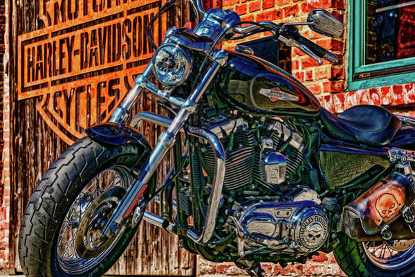 Wall Art - Photograph - At The Harley Shop by Pixabay
