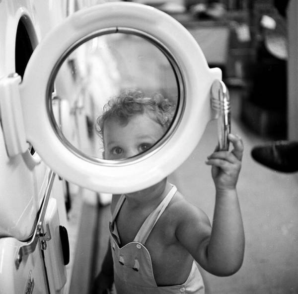 Wall Art - Photograph - At The Laundromat by Rae Russel