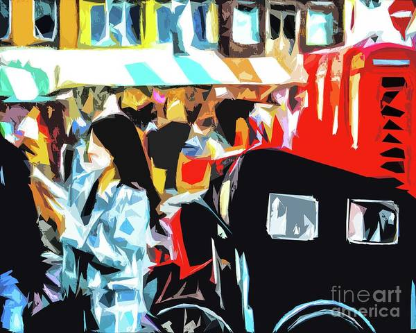 Photograph - At The Market. by Nigel Dudson