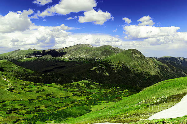 Montain Photograph - At The Summit Of Independence Pass Colorado by Jeff Swan