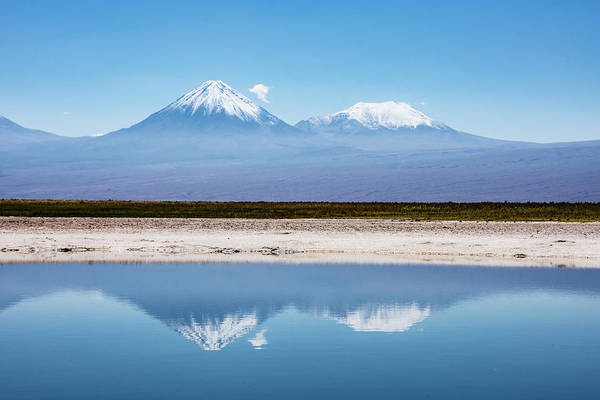 Photograph - Atacama Reflection by Mark Hunter