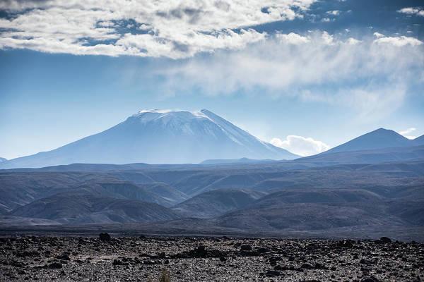 Atacama Volcano Art Print