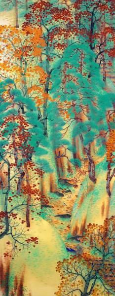 Wall Art - Painting - Ataggoji - Top Quality Image Edition by Yokoyama Taikan