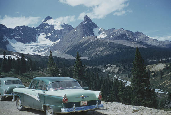 1961 Photograph - Athabasca Glacier by Archive Photos