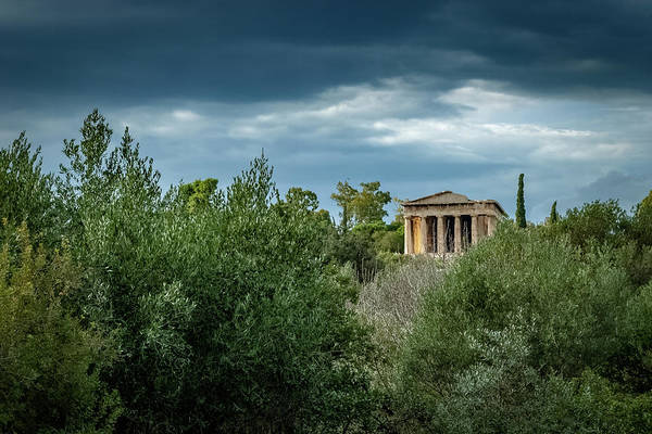 Photograph - Athens Agora by Ioannis Konstas
